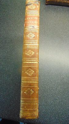 1811 Leather Bound The General History Of Polybius In Five Books