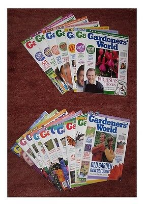 Vintage Gardeners' World Magazines 17 Issues 1991 1992 1993