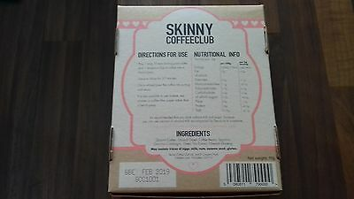 "Genuine Organic ""skinny Coffee Club"" Weight Loss/detox Coffee/safe Uk Stock"