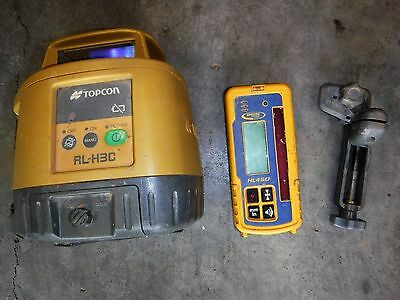 Topcon RL-H3C Rotating Laser Level with HL450 Receiver