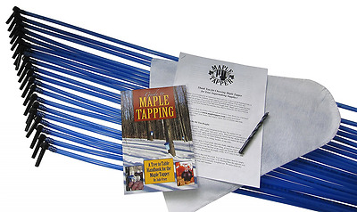 Deluxe Maple Sugaring / Maple Sap Tapping Starter Kit (Tap 20 Trees) Maple Taps