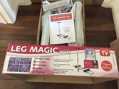 """Leg Magic Ultra Sport exerciser with """"champion figure skating approval."""""""