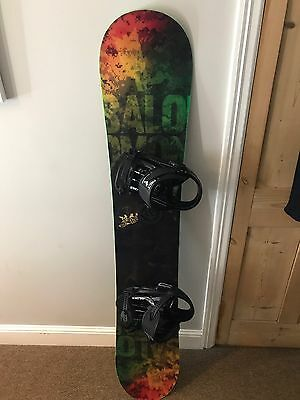 159cm Salomon Snowboard - All Mountain With Binding