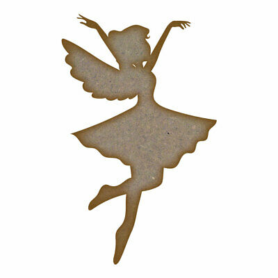 Fairy 4 - MDF Laser Cut Craft Blanks in Various Sizes