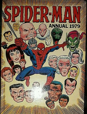Marvel Spider-Man Annual 1979 - Good Condition