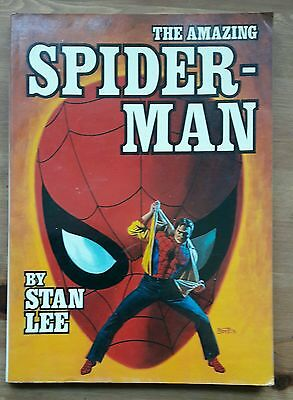 Marvel Fireside Books - The Amazing Spider-Man by Stan Lee - 1978 - G/C - N/R!
