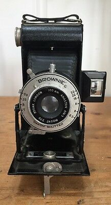 Vintage Kodak Six-20 Folding 'Brownie' Camera, Made in Great Britain