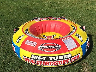 SUMMER FUN SKE PAL 1 Person Inflatable Towable Water Ski Tube MY T TUBER 53-1308
