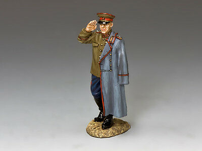 King And Country Ra059 Ra59 - Marshal Georgy Zhukov - Wwii Red Army 1:30 Scale