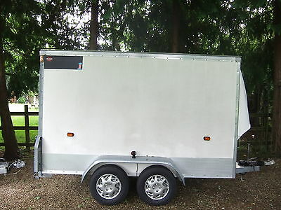 Wessex Towavan Box Trailer Twin Axle 10 X 5 With Ramp Very Good Condition