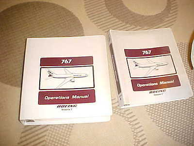 767 201 VOL 1&2 PIEDMONT AIRLINES OPERATIONS Manual 1987 SHIP FREE