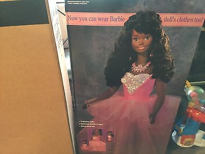 My Size Barbie AA, never opened with shipping liner.