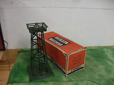 Lionel   O Scale   Rotating  Beacon Tower  # 394  from  1950   Lot # RO.