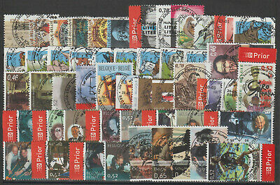 Belgium - Year set - 2006 - 128 stamps - Used -
