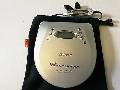 Sony Personal Portable CD Player Walkman D-E777 G Protection Jog Proof   Remote