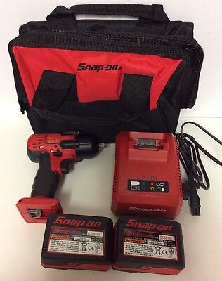 Snap-On 18V MonsterLithium Cordless Impact Wrench Kit CT8810AIPLFM