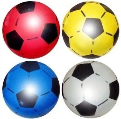 (Pack Of 30) Pvc Football Kids Birthday Party Bag Fillers Toys Bouncy Balls Gift