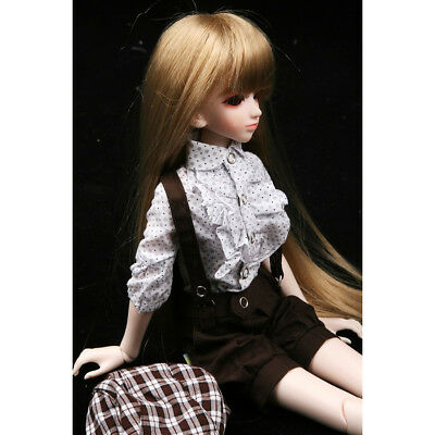 [wamami] 290# Brown Outfit/Suit/Clothes For 1/4 MSD DOD AOD LUTS BJD Dollfie