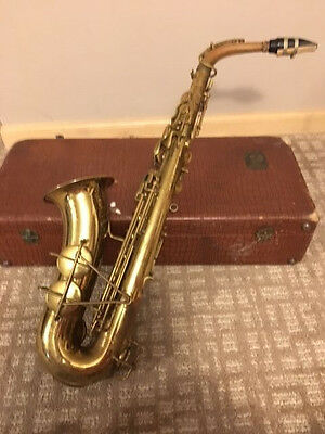 used  Martin RMC Indiana  saxophone sax old rare antique gold brass
