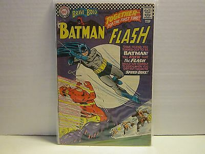 Brave And The Bold #67 Batman And The Flash  Fine+ Cond