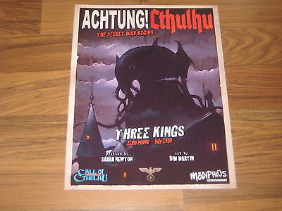 Achtung! Cthulhu Zero Point Three Kings 1939 Adventure Modiphius Entertainment
