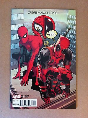 Spider-Man Deadpool #1 Will Sliney 1:10 Variant Cover Nm 1St Printing 2016