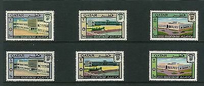 Qatar, Year 1966, Mnh** Stamps Set, Education Day