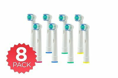 8x Oral-B 3D White Electric Toothbrush Replacement Brush Head UK