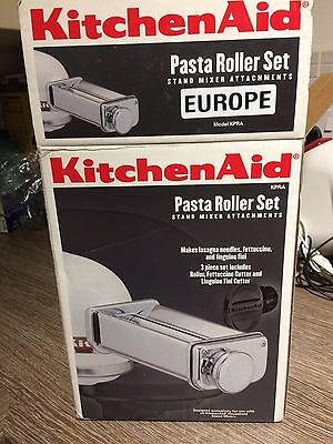 Kitchen Aid Pasta Roller Partly Used