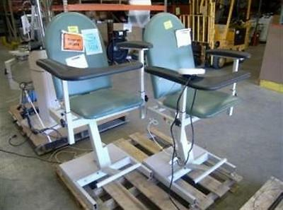 Winco Manufacturing Model 588 Power Blood Drawing Chair