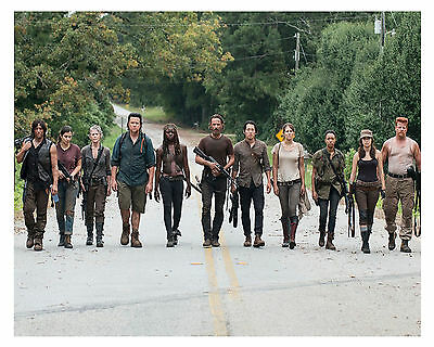 "** * THE WALKING DEAD * ** ""Cast""  8 x 10 (Glossy) Print *a*"