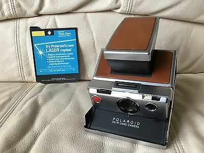 Polaroid SX-70 Instant Film Camera-Tested&Working Great Condition-Ships ToDay