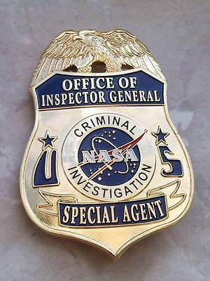 NASA Criminal Investigation Police Badge
