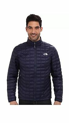 NWT The North Face Thermoball Jacket Mens Full Zip Cosmic Blue M Medium