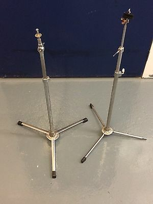 Vintage Premier Cymbal stands X 2