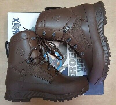 New Haix MTP GTX Goretex Army Issue Hiking Brown Leather Waterproof Boots