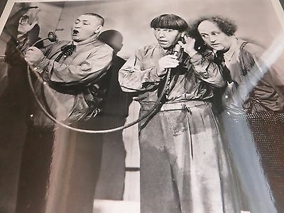1930s The Three Stooges Larry Moe Curly Plumber Scene Still Photo Print #526