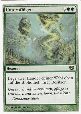 Magic the Gathering 1x Unterpflügen (NM)