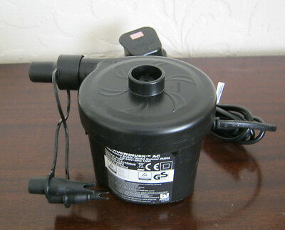 Electric Pump for Inflatable Airbeds, Blow-up Toys etc - excellent condition
