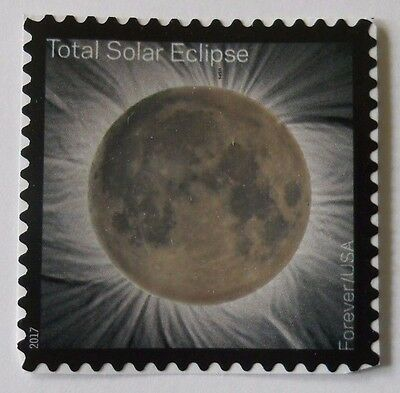 2017 Total Solar Eclipse of the Sun Forever Single (1 Stamp) MNH