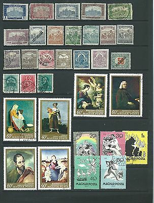 Hungary -  Eclectic Group On 2 Scans.