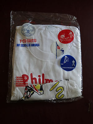 Vintage Boy Scouts Of America New Philmont Scout Ranch Tshirt Size Adult X-Large