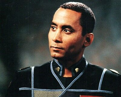 Richard Biggs (1960-2004) Dr. Franklin BABYLON 5 8x10 BLANK UNSIGNED