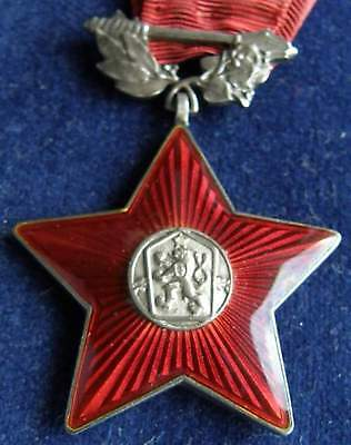 CZECHOSLOVAK military Order of the Red Star