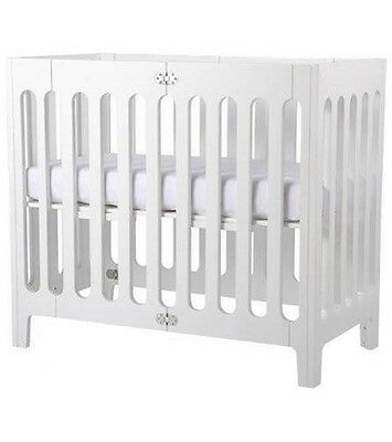 Bloom Alma Mini Urban Crib - Coconut White