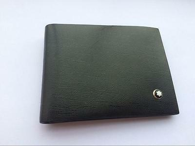 Brand New Montblanc 6cc Small Leather Men's Wallet