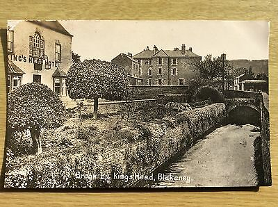 Brook by King's Head, BLAKENEY, Norfolk ~ Printed Postcard