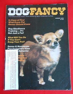 RARE Collectible ~ CHIHUAHUA Issue ~ DOG FANCY Magazine ~ August 1979