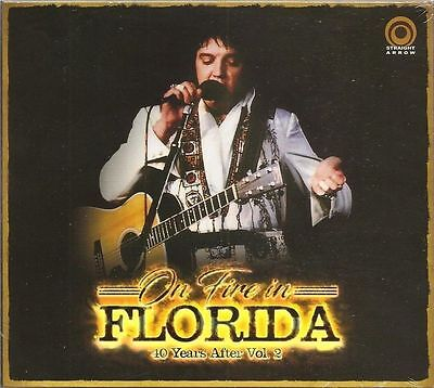 "Rare Elvis Presley - 2 CD ""ON FIRE IN FLORIDA"" - Straight Arrow"