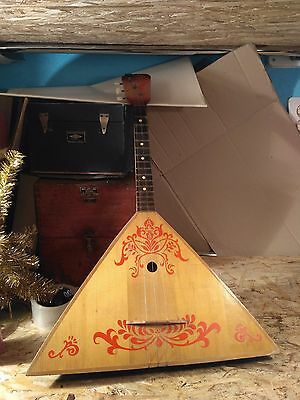 Russian Balalaika Folk Instrument